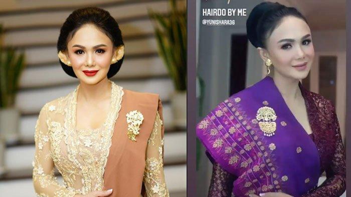 Curi Perhatian, Yuni Shara Tampil Anggun di Pernikahan Aurel & Atta, Intip Deretan Potretnya