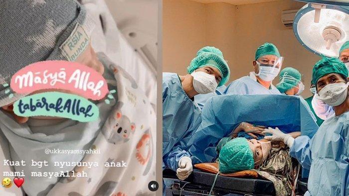 Zaskia Sungkar lahirkan anak pertama dengan Irwansyah