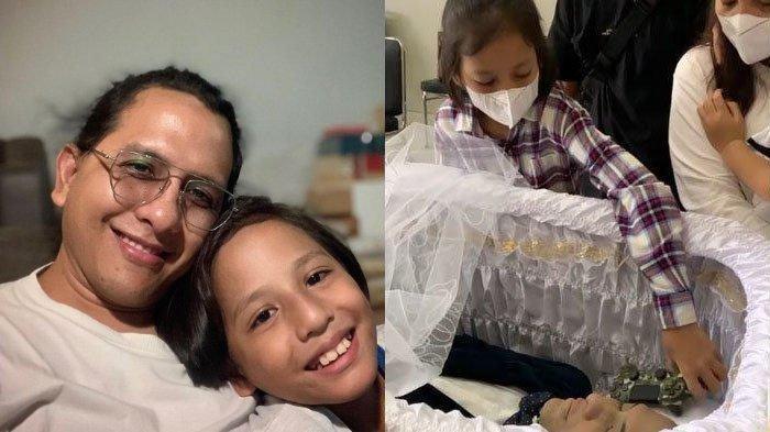 Lepas Kepergian Ayah, Anak Kedua Joanna Alexandra Letakkan 'Hadiah' Terakhir di Peti Raditya Oloan