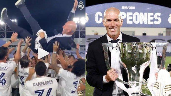 Pelatih Real Madrid & Legenda Sepakbola Perancis Zinedine Zidane Positif Covid-19, Sedih karena Ini