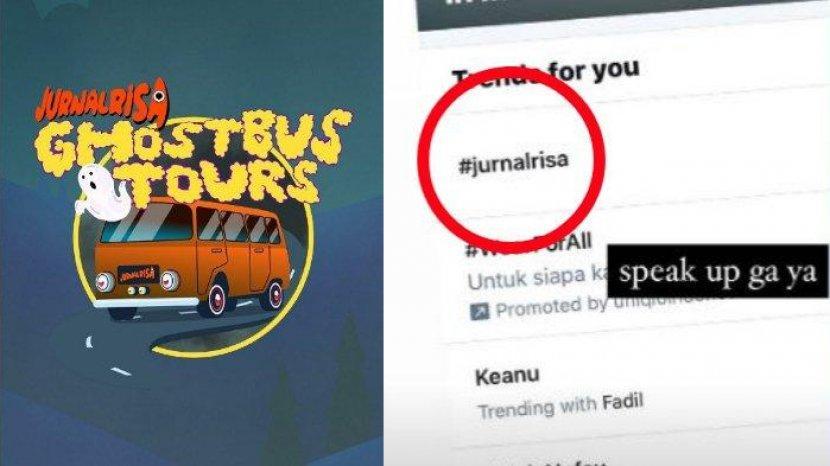 Jurnalrisa Trending Twitter Acara Ghost Bus Tours Ditunda Keanu Fadil Jaidi Tunjukkan Sikap Tribunnewsmaker Com