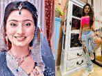 BAK Gadis Desa di Serial Balika Vadhu, Penampilan Asli Gehna Bibi Anandhi Glamor Abis & Mirip ABG