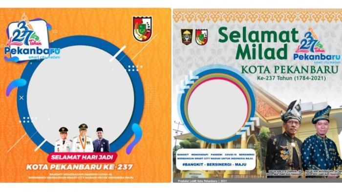 10 Twibbon HUT Kota Pekanbaru 2021, Bingkai Foto Hari Jadi Pekanbaru Ke-237 di Twibbonize.com
