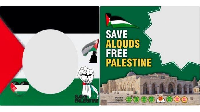 30 Twibbon Palestina Terbaru, Bingkai Foto Bela Palestina hingga Save Al Aqsa di Twibbonize.com