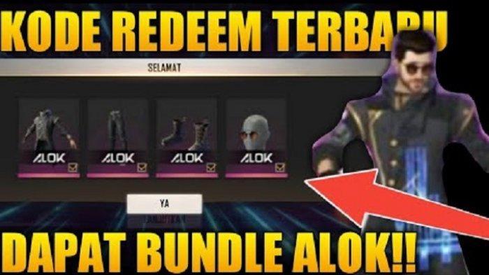 8 Kode Redeem Free Fire Ff Terbaru 18 Juli 2020 Dapatkan Bundle Alok Budi01 Gaming Buruan Tribun Padang
