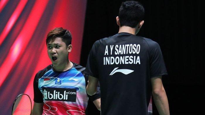 Giliran Wakil Indonesia, Wahyu/Ade Lolos ke Babak Kedua Seusai Menang Dua Gim Langsung