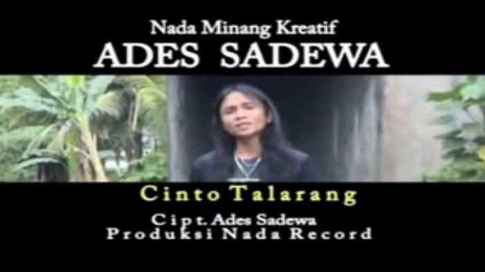 Lirik Lagu Minang Cinto Talarang - Ades Sadewa: Kok hujan anggan nak turun