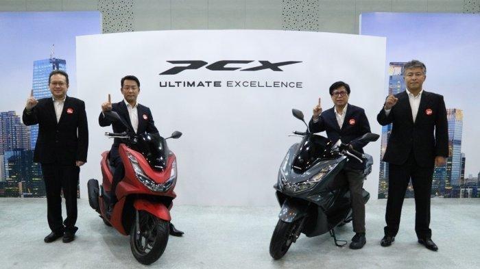UPDATE Honda PCX 160 dan PCX e:HEV, Cek! Harga Banderol Mulai dari Rp 30 Jutaan