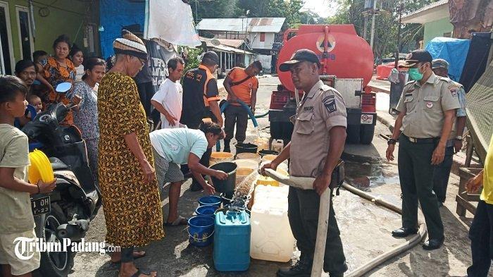 Dampak Kemarau di Kota Padang Meluas, BPBD Padang Pantau 7 Titik Kekeringan Dalam 3 Kecamatan