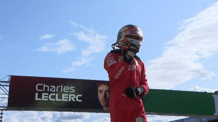 Charles Leclerc Puas Performa Mesin Ferrari, Sempat Frustrasi pada Babak Kualifikasi