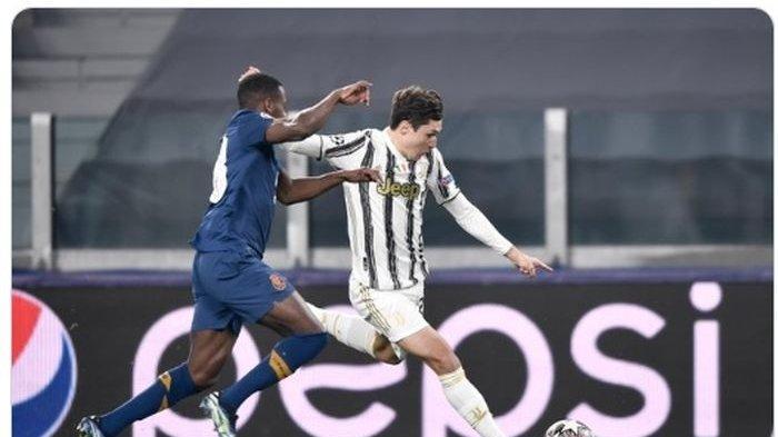 Jalan Laga Juventus Vs Porto, 10 Pemain Lawan Paksa Si Nyonya Tua Menepi dari Liga Champions