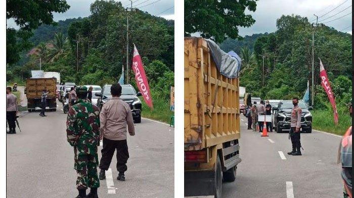 Arus Balik, 60 Kendaraan Asal Riau yang Ingin Masuk Sumbar Disuruh Putar Balik