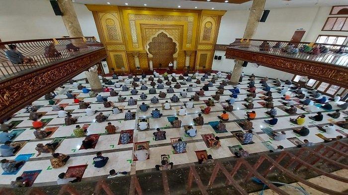 Antisipasi COVID-19, Pelaksanaan Iktikaf di Masjid Jabal Rahmah Semen Padang Ditiadakan