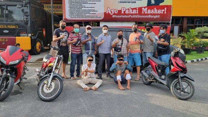 Tim Klewang Polresta Padang Buru DPO, Amankan Residivis Pencuri dan Penadah Hasil Curanmor