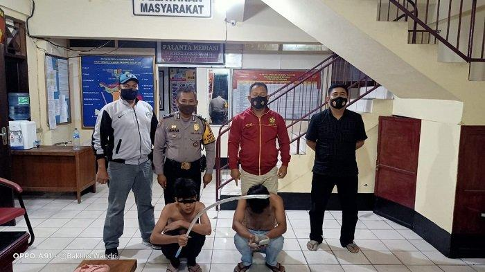 Dua Lelaki di Padang Diamankan Saat Aksi Tawuran, Polisi Dilempari dan Dihujat Kata-kata Kotor