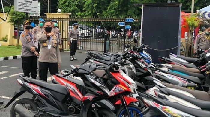 Polresta Padang Amankan 90 Orang dan 58 Motor, Terjaring Razia Antisipasi Balap Liar dan Tawuran