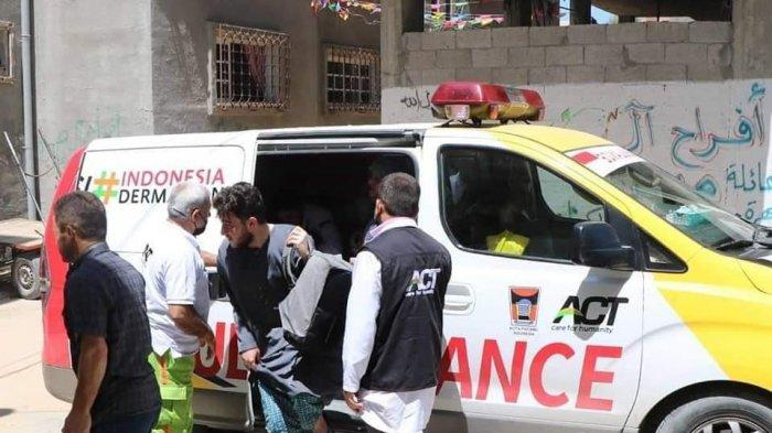 Ambulance Donasi dari Pemerintah Kota Padang bersama warga Kota Padang untuk Palestina