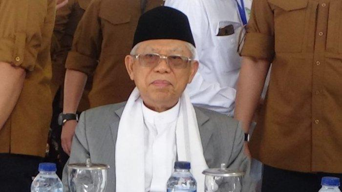 Di Padang, Wapres Ma'ruf Amin Sampaikan 5Program Prioritas 2019-2024, Singgung soal Stunting