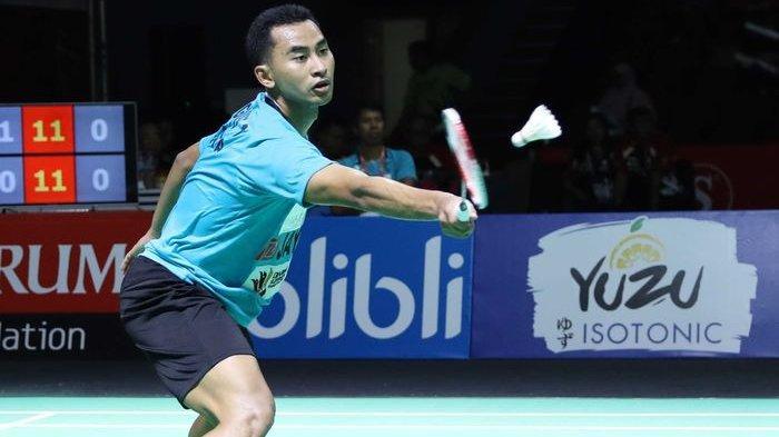 Tommy Sugiarto Susah Payah Menangkan Rubber Gim ke Perempat Final