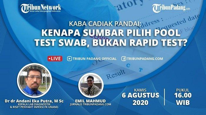 BREAKING NEWS - Andani Eka Putra Dikabarkan Positif Covid-19, Jasman: Semoga Segera Sembuh