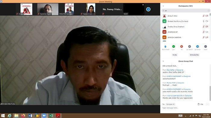 Dr Andani Webinar Bersama Yayasan Igasar Semen Padang; Jangan Takut Corona, Tapi Jangan Lalai