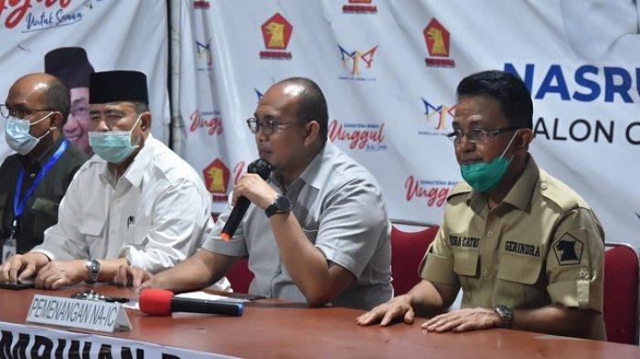 Nasrul Abit-Indra Catri Resmi Ajukan Gugatan Hasil Pilkada Sumbar ke MK