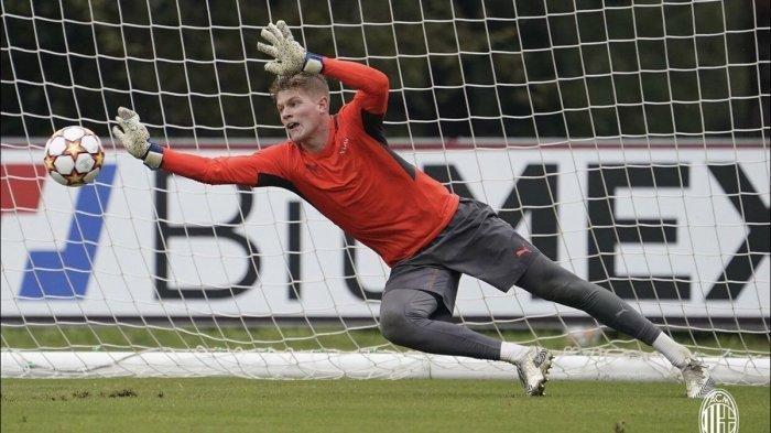 Perjalanan Andreas Jungdal Kiper 19 Tahun yang Bikin AC Milan Terpikat, Sudah Berlatih di Tim Utama
