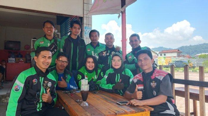 Grabi Patty, Komunitas Driver Ojek Online di Padang, Punya Puluhan Anggota dari Grab dan Gojek