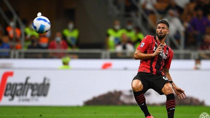 Olivier Giroud Mentahkan Mitos Kutukan Jersey AC Milan Nomor 9: Ingat van Basten, Papin, dan Inzaghi