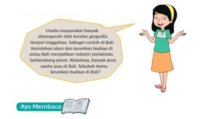 Apa Saja Keunikan Desa-desa pada Bacaan Desa Unik di Bali? Kunci Jawaban Tema 8 Kelas 5 Halaman 73