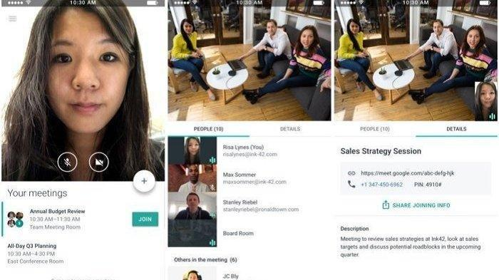 Daftar Aplikasi untuk Mengadakan Rapat dan Pertemuan Secara Online di Android, Ada Google Meet