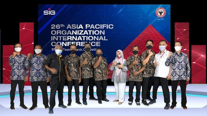 Dua Tim Inovasi PT Semen Padang, Raih 3 Stars pada Ajang APQO-IC Australia