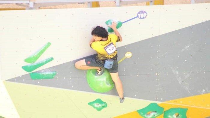 2 Nomor Cabor Panjat Tebing Sumbar Gagal di Babak Kualifikasi, Target Emas pada Nomor Combined Putra