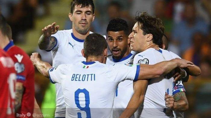 Tim Campur Sari Inter, AC Milan, AS Roma, Napoli dan Atalanta: Timnas Italia Racikan Roberto Mancini