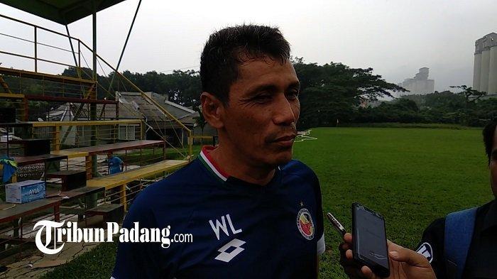 Pelatih Kepala Semen Padang FC Weliansyah, 34 Tahun Bersama Kabau Sirah Sejak Masih Jadi Pemain