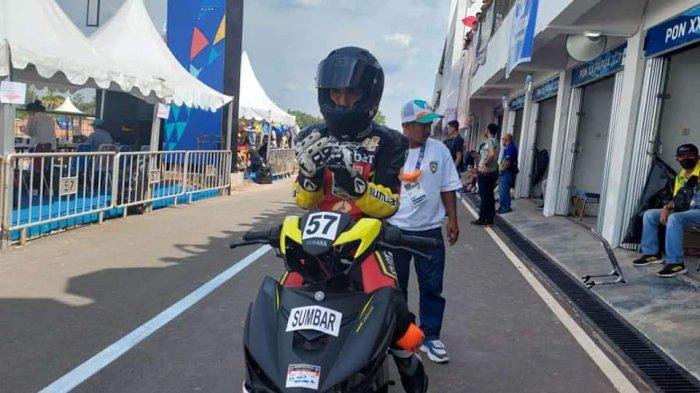 Hasil Kualifikasi Positif, Cabor Balap Motor Sumbar Optimis Bisa Raih Medali di PON Papua 2021