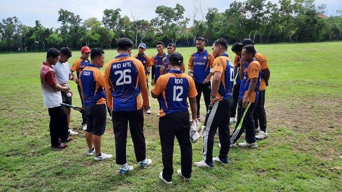 Cabor Cricket Sumbar Kirimkan 14 Atlet Putra untuk PON Papua 2021, Ikuti 3 Nomor Perlombaan