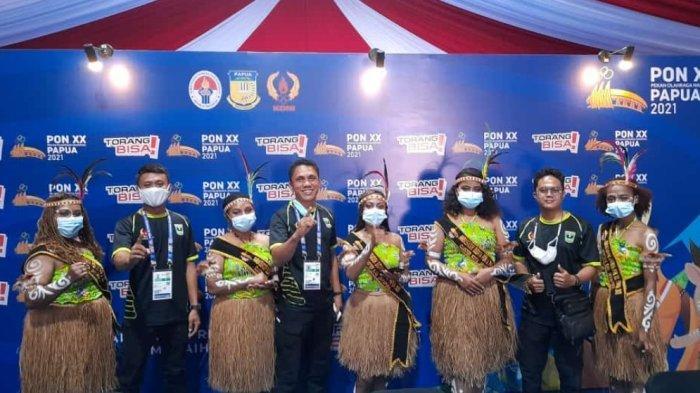 Hari Ini Atlet Sumbar Mulai Bertanding di PON Papua 2021, Cabor Gantole jadi Pembuka
