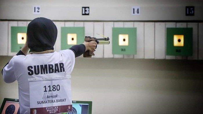 Ikuti Satu Nomor Pertandingan Cabor Menembak Sumbar Gagal Sumbang Medali di PON XX Papua 2021