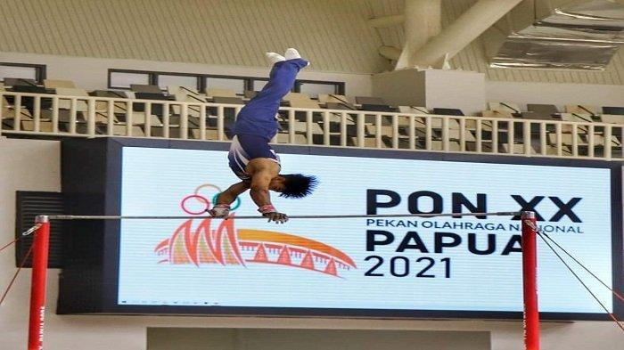 Update - Cabang Olahraga Senam Kontingen Sumbar, Nomor Beregu Gagal Persembahkan Medali
