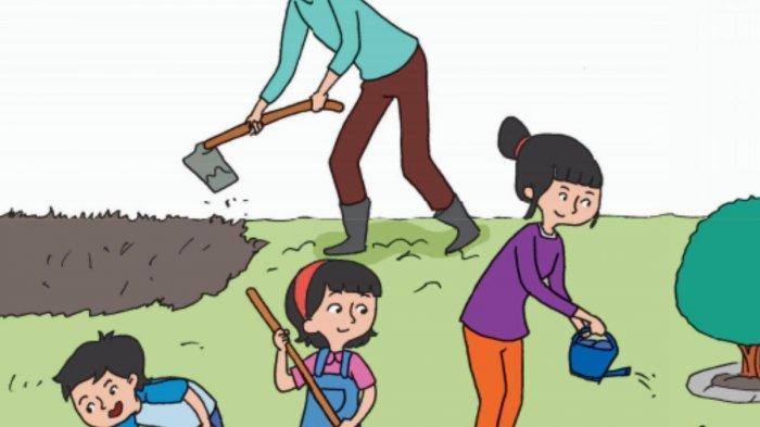 Tong Sampah Gotong Royong: Tulislah Gagasan Pokok dan Gagasan Pendukungnya
