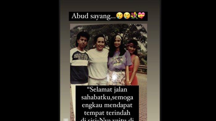 Ayu Azhari mengucapkan selamat jalan untuk sahabatnya, Wan Abud.