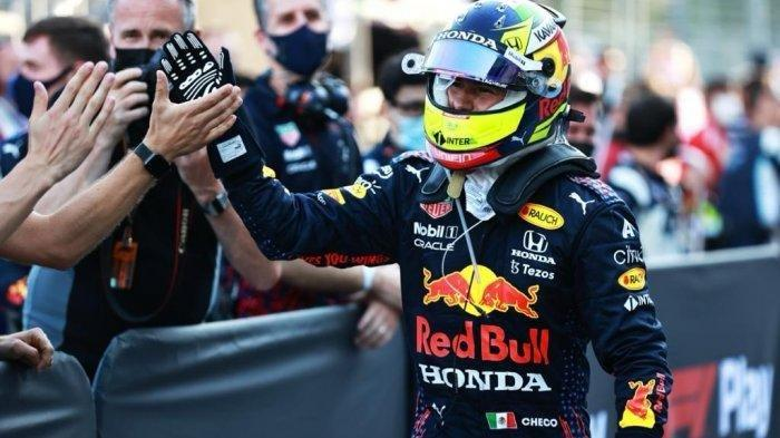 Sergio Perez Tercepat di GP Formula 1 Azerbaijan, ExxonMobil Puji Peforma Tim Red Bull Racing