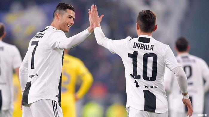 Juventus Hajar Inter Milan, Sepasang Gol Ramsey dan Dybala Jadi Pembeda