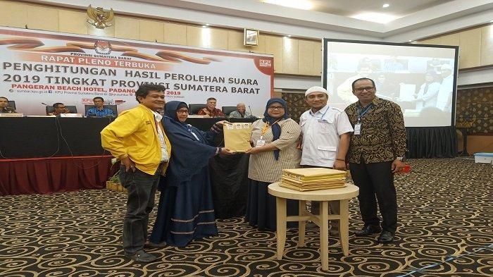 Rampung, Rekapitulasi Suara Kabupaten Pessel, Mentawai serta Kota dan Kabupaten Pariaman