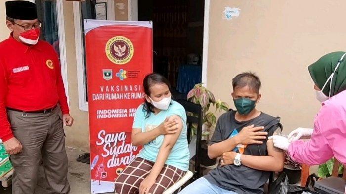 Serbuan Lanjutan Vaksinasi di Pesisir Selatan, BIN Sasar Santri, Pelajar dan Masyarakat