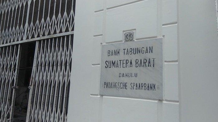 Bangunan Bersejarah Bank Tabungan Sumatera Barat di Kawasan Kota Tua