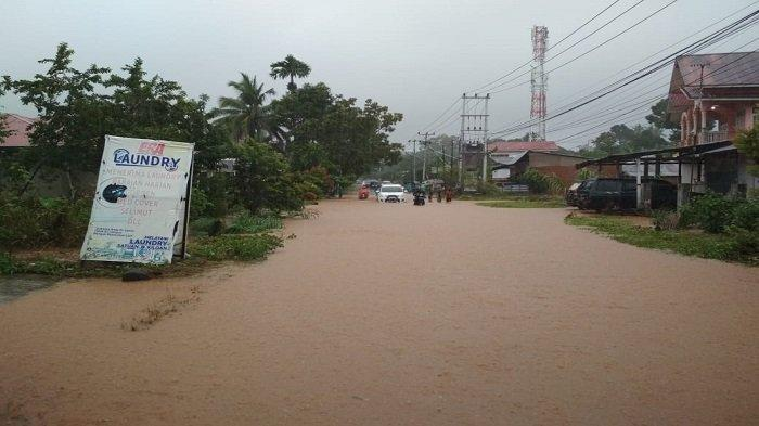 BPBD Kota Padang Sebut Ratusan Rumah Terendam Air, Curah Hujan Tinggi dan Merata