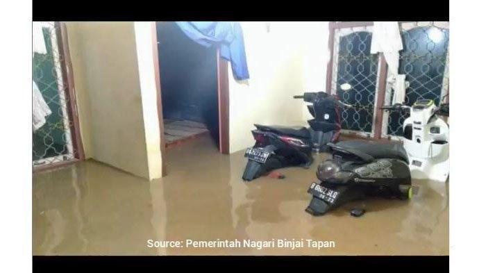 Banjir di Ranah Ampek Hulu, Camat Sebut Ada 771 KK Terdampak, Air Lebih Tinggi dari Kejadian 2018
