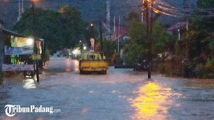 Banjir Setinggi Paha Orang Dewasa di Jondul Rawang, Warga Berharap Ada Solusi dari Pemerintah